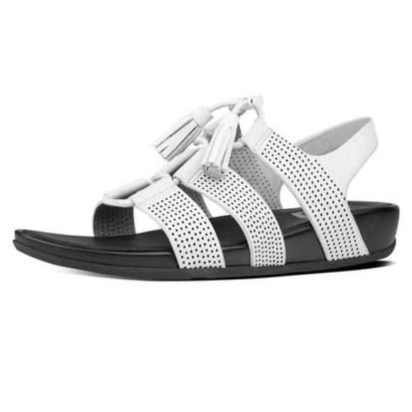 8aeb2c5aaa3 Fitflop Shoes - Fit Flops - Gladdie Perforated Sandals white SZ 7